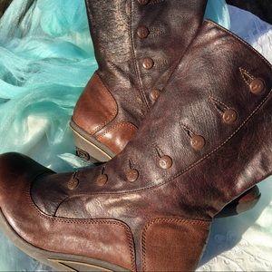 Jump Boots Vegan Leather Women's Size 8.5